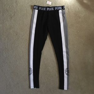 PINK Victoria's Secret Pants & Jumpsuits - New! VS PINK Yoga Flat Leggings
